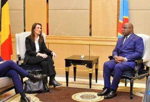 RDC-Belgique : Tshisekedi et Wilmes échangent sur la coopération bilatérale à Bruxelles 1