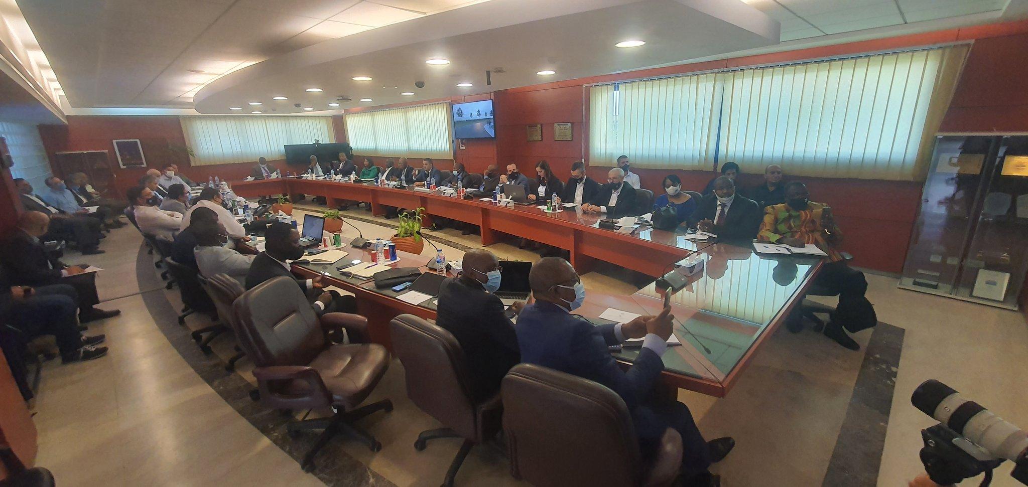 RDC : une délégation du FPI séjourne en Egypte pour valider les études techniques des projets structurants du Grand Kasaï 38