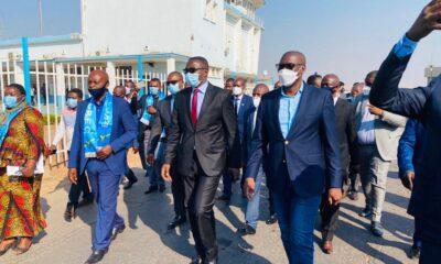 RDC : Industrie, Julien Paluku dans l'ex Katanga pour évaluer le choc de la Covid-19