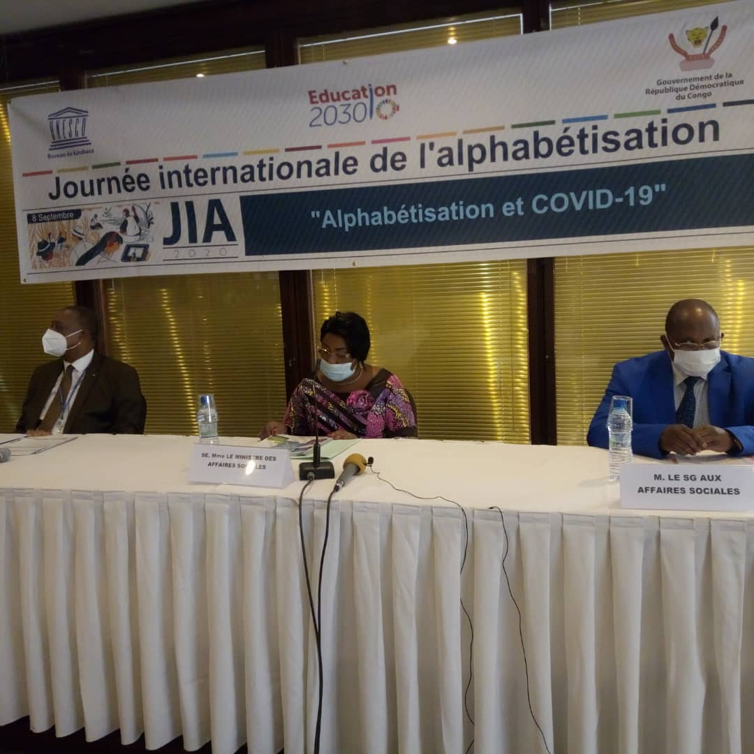 RDC : le taux d'analphabétisme s'élève à 29,1%, Gouvernement et UNICEF mobilisés contre ce fléau !