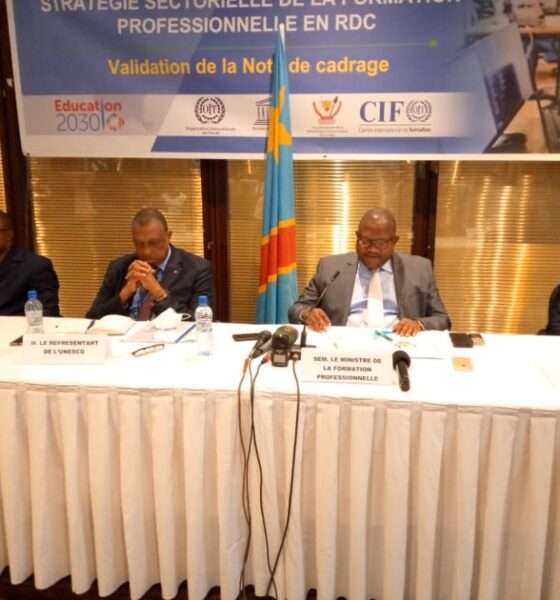 RDC: faire de la formation professionnelle un choix de première zone (stratégie sectorielle de l'Etat) 1