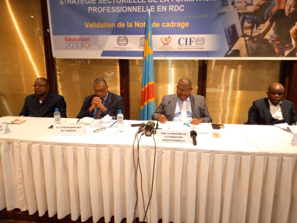RDC: faire de la formation professionnelle un choix de première zone (stratégie sectorielle de l'Etat) 5