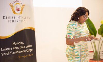 RDC : la Fondation Denise Nyakeru Tshisekedi et World vision militent contre les violences faites aux enfants !