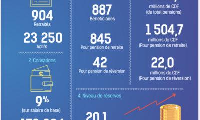 RDC: chiffres clés du Rapport annuel 2019 de la Caisse nationale de sécurité sociale des agents publics de l'Etat 68