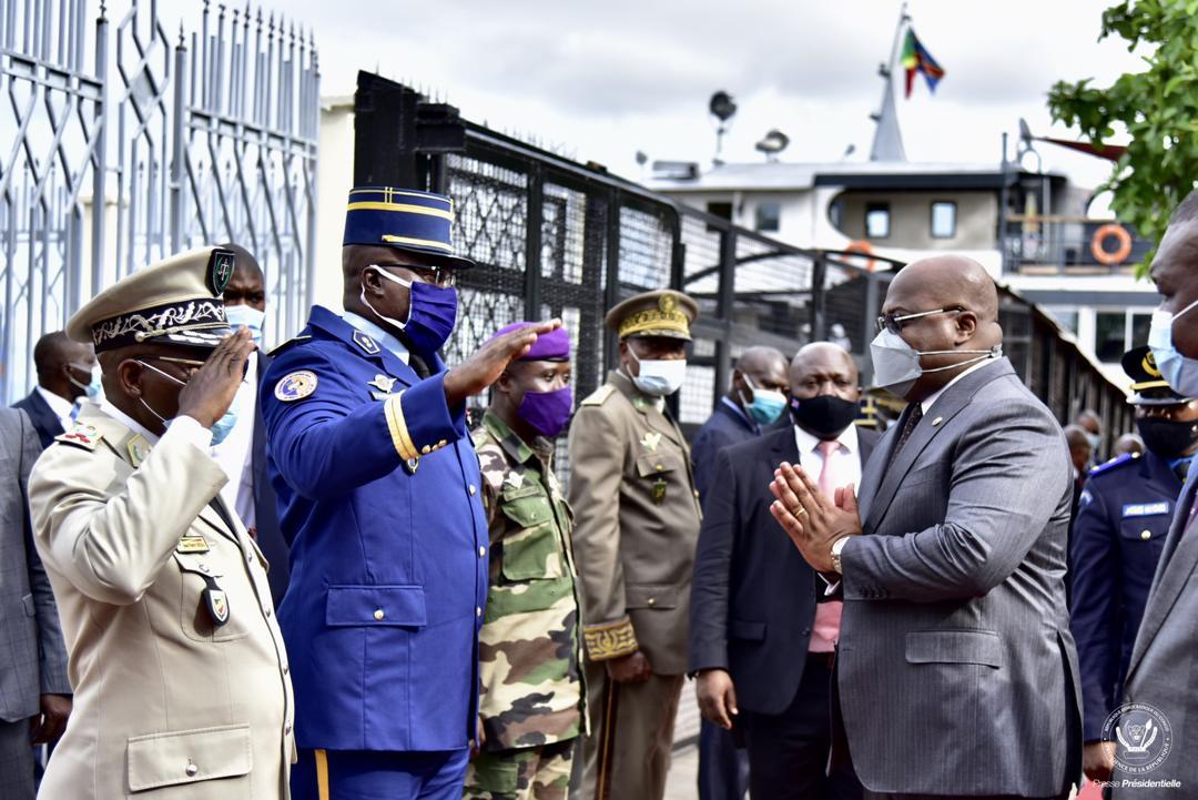 RDC : Tshisekedi traverse le fleuve Congo pour les festivités des 80 ans du manifeste de Brazzaville 3