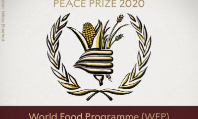 Monde: le Programme alimentaire mondial de l'ONU reçoit le prix Nobel de la paix 2020 14