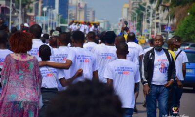 RDC : des jeunes de Kinshasa organisent une marche de soutien à la vulgarisation du Code minier 98