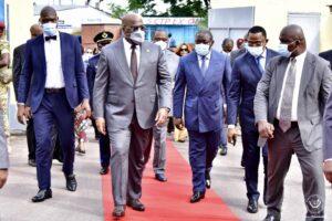RDC : Tshisekedi traverse le fleuve Congo pour les festivités des 80 ans du manifeste de Brazzaville 4