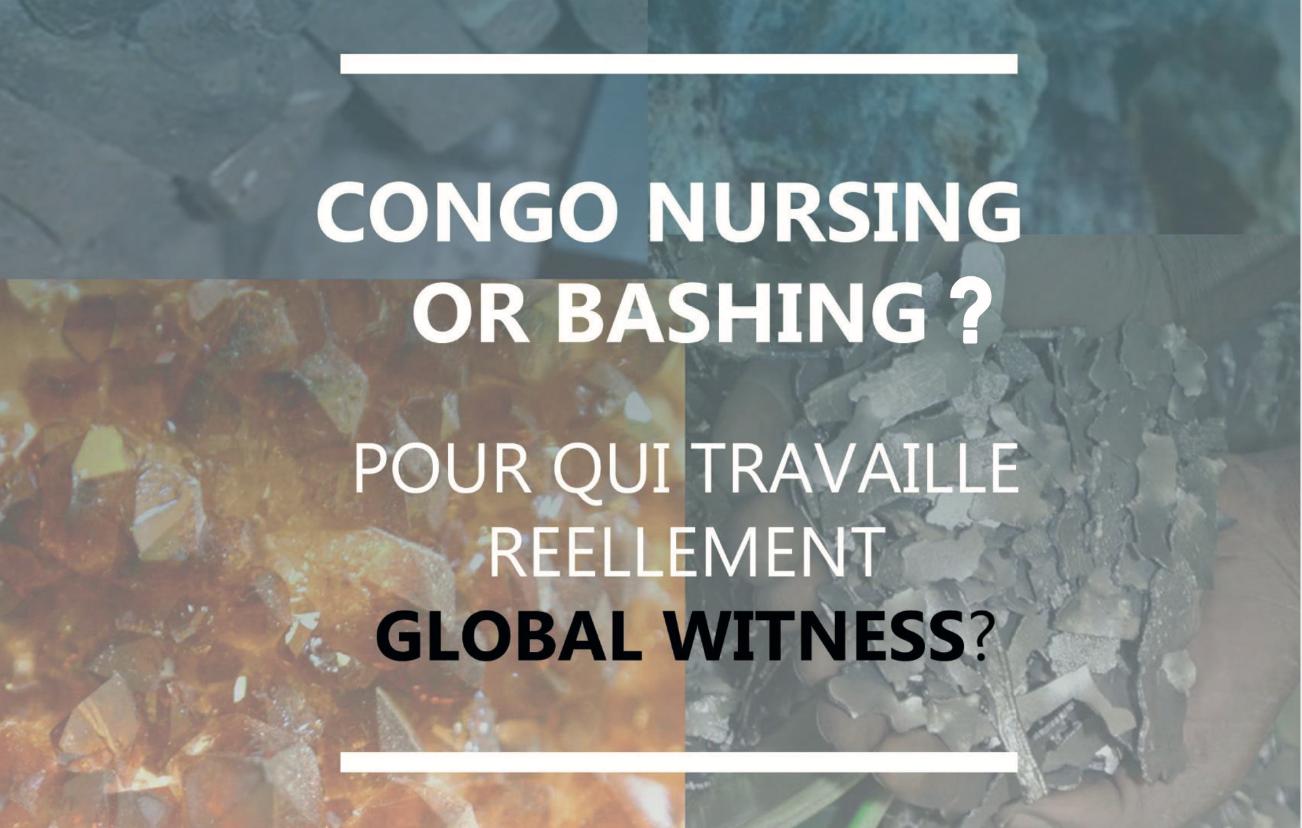 RDC : Global Witness ne s'embarrasse ni de ses propres approximations ni de ses contradictions (Tous pour le Congo) 1