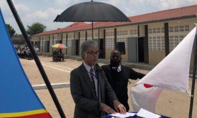 Kinshasa : le Japon finance 90 712 USD pour la réhabilitation de l'école primaire Sanza III à Limete 107