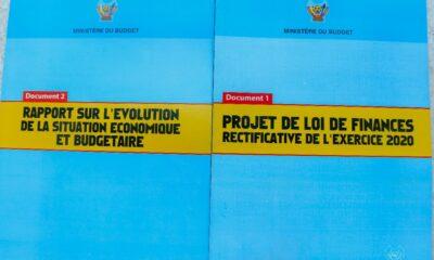 RDC: le Gouvernement dépose le projet de Budget rectificatif de l'exercice 2020 à l'Assemblée nationale 1