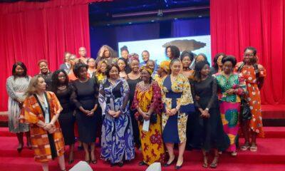Kinshasa : la première dame Denise Nyakeru à Showbuzz pour soutenir les femmes de lettres ! 49