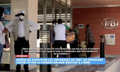 RDC: Covid-19, la Fondation Dan Gertler fait un don de matériels pour des tests de laboratoire à l'INRB 7