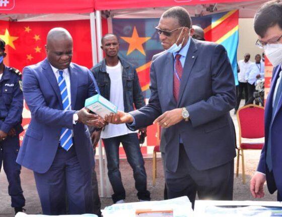 RDC : covid-19, la Chine offre des matériels pour appuyer le dispositif de l'enseignement à distance ! 6