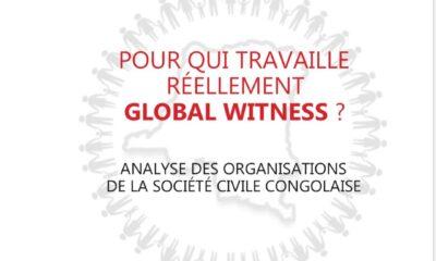 RDC: Coalition tous pour le Congo révèle «l'imposture idéologique» de Global Witness en cinq points 10