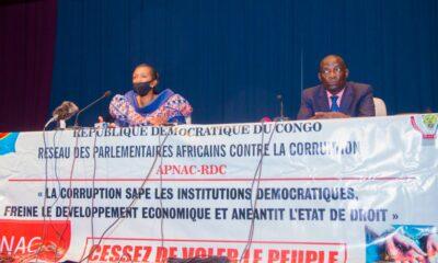 RDC: Mabunda lance le séminaire du Réseau des Parlementaires Africains contre la corruption!