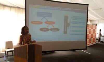 RDC: Rose-Dorée Bokeleale explique la banquabilité d'un projet aux jeunes entrepreneurs 21
