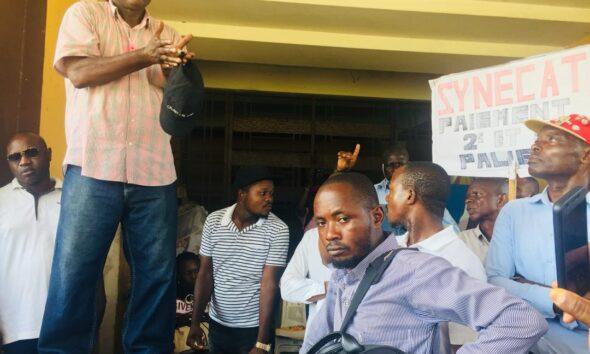 RDC : EPST, les deux syndicats SYECO et SYNECAT décident de poursuivre la grève ! 45