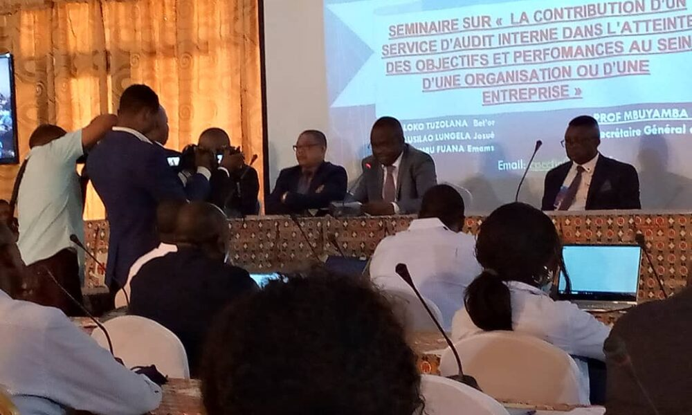 Kinshasa : des experts comptables en séminaire sur la contribution d'un service d'audit interne 4