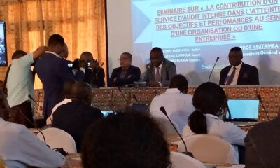 Kinshasa : des experts comptables en séminaire sur la contribution d'un service d'audit interne 5