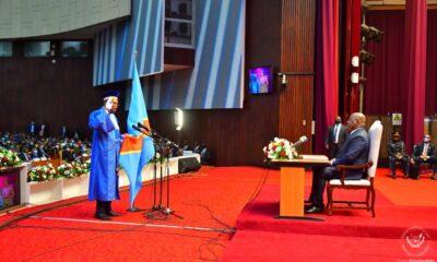 RDC : Félix-Antoine Tshisekedi reçoit le serment de trois juges de la Cour constitutionnelle 38