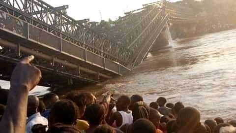 RDC: Plusieurs morts dans l'effondrement d'un pont en pleine ville de Tshikapa au Kasaï! 46