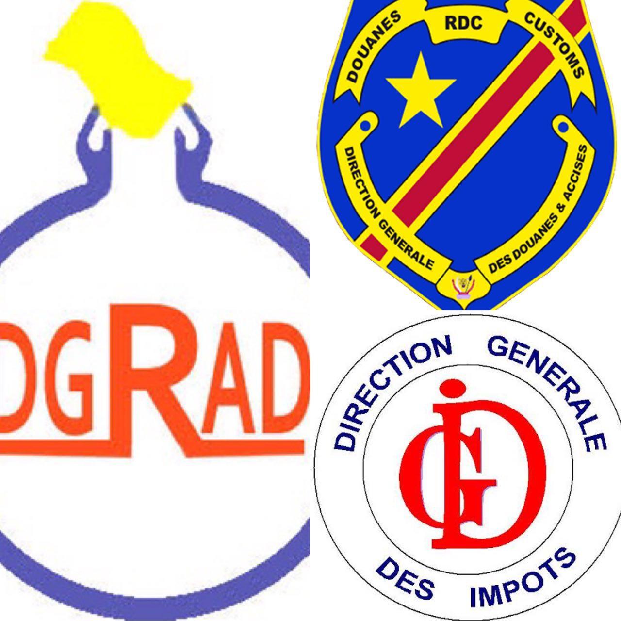 RDC: le Gouvernement relève une nette augmentation des recettes en un mois pour la DGDA, DGI et DGRAD 5
