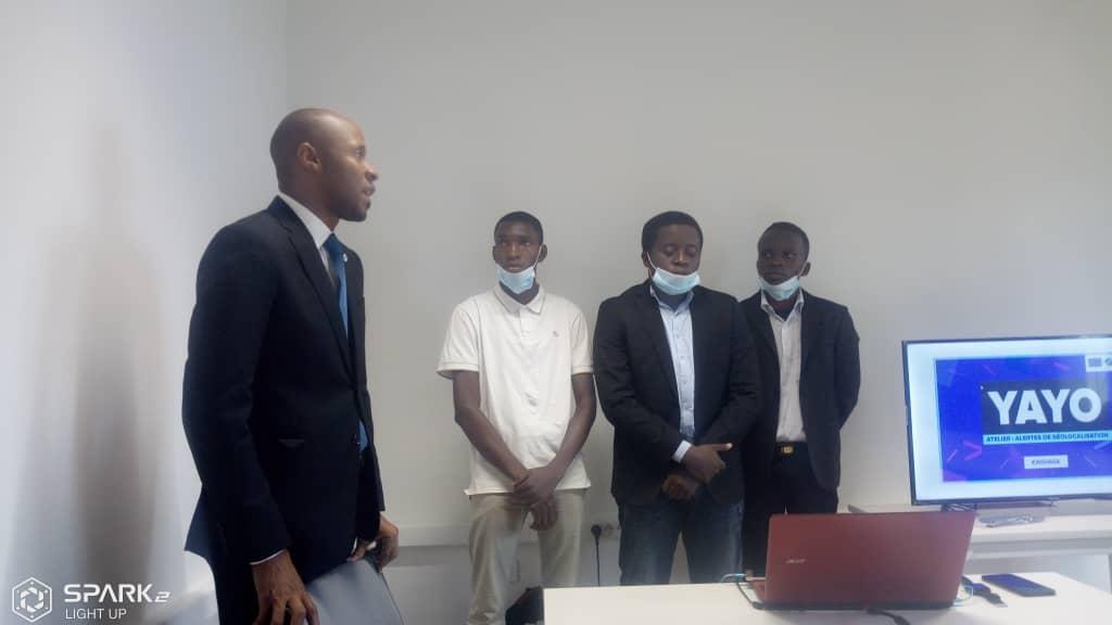 RDC : trois équipes gagnantes des hachathons présentent leurs projets à Texaf-Digital ! 1