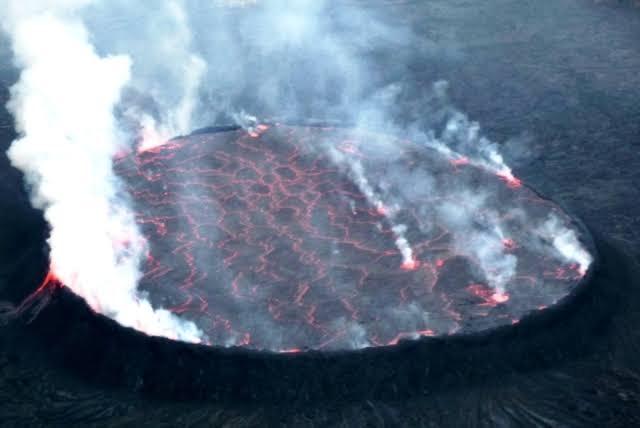 RDC: L'Observatoire volcanologique de Goma dément les rumeurs d'une propable éruption de Nyamulagira 1