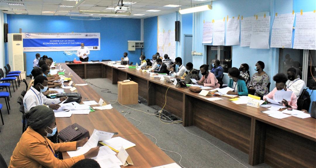 RDC: le BCNUDH initie des jeunes activistes aux techniques de monitoring des droits économiques, sociaux et culturels 1