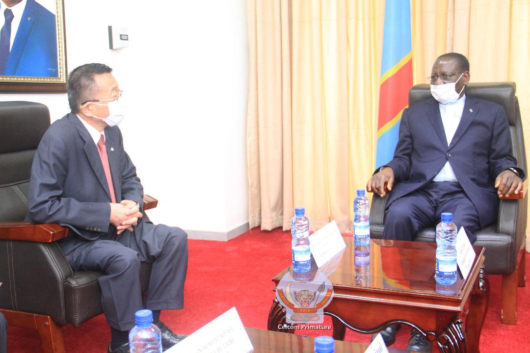 RDC : le diplomate Japonais Hiroshi Karube fait ses adieux au Premier Ministre Ilunkamba! 1