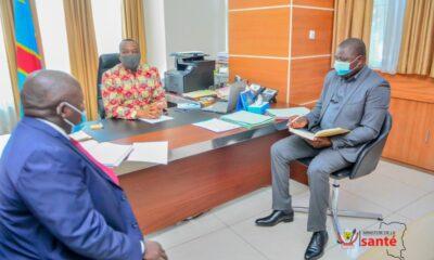 RDC: Dr Eteni passe en revue la mission de la Croix -Rouge avec son Vice-président de la zone Afrique 1