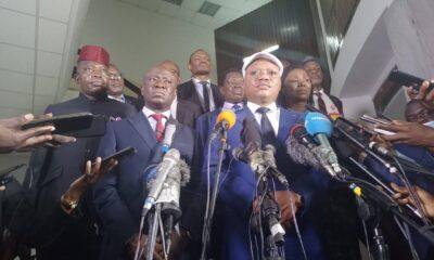 Jean-Marc Kabund : «nous avons dit au chef de l'Etat que l'UDPS voudrait qu'il toune la page de la coalition FCC-CACH» 32