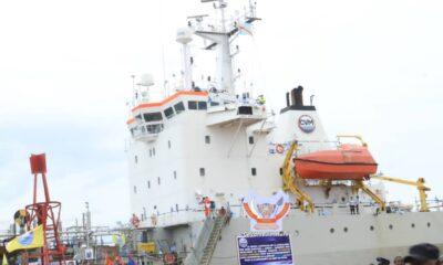 RDC : la Congolaise des voies maritimes dotée d'une nouvelle drague 41 ans après ! 68