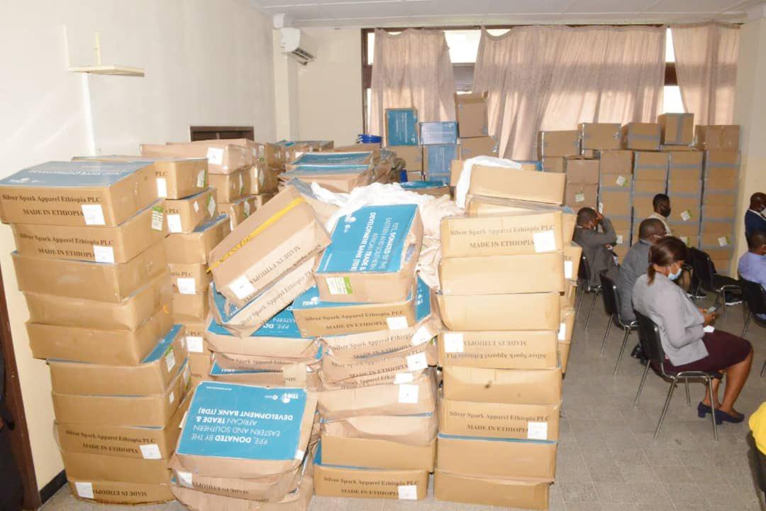 RDC: Le Fonds Covid-19 bénéficie d'un don de TDB en matériels de riposte pour un montant de 100 000 USD ! 4