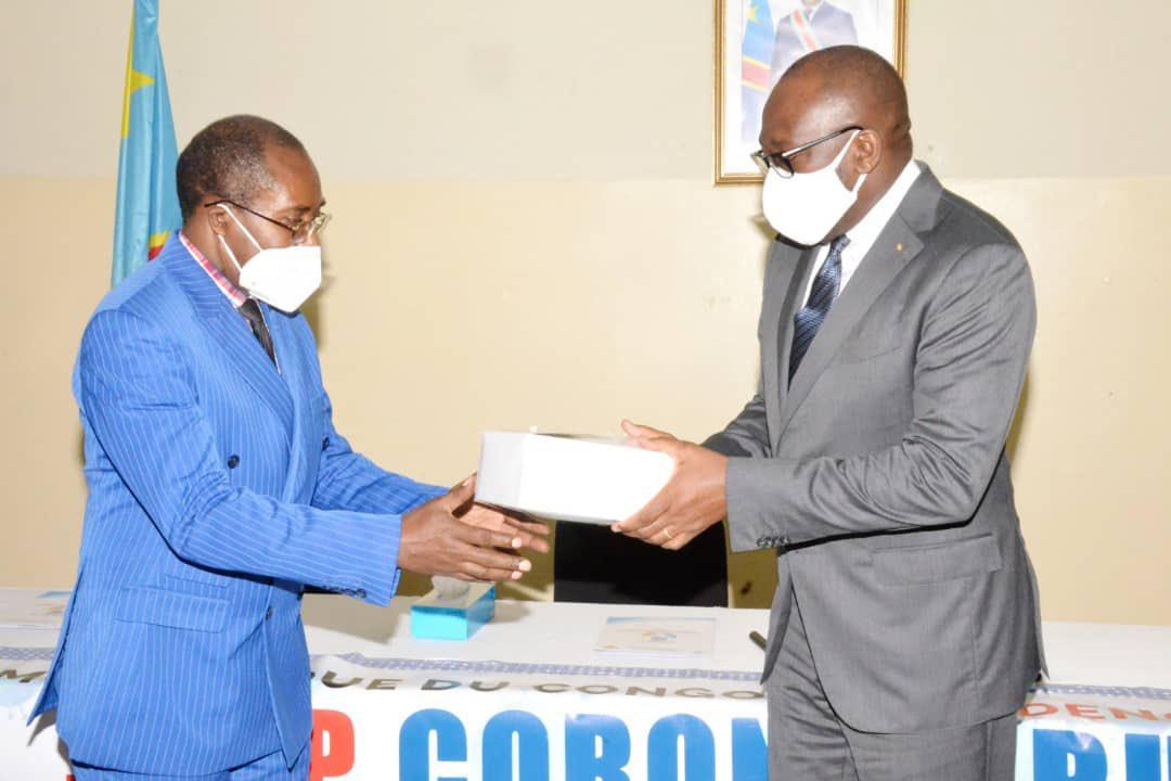 RDC: Le Fonds Covid-19 bénéficie d'un don de TDB en matériels de riposte pour un montant de 100 000 USD ! 3