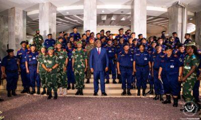 RDC: Les généraux des FARDC et de la Police réitérent leur loyauté inébranlable au Chef de l'Etat 52