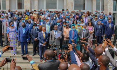 RDC : 305 députés nationaux du FCC condamnent toute forme de corruption et de procédés fallacieux! 110