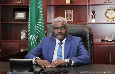 RDC : Union Africaine, Moussa Faki séjourne à Kinshasa pour les derniers réglages de la présidence congolaise 3