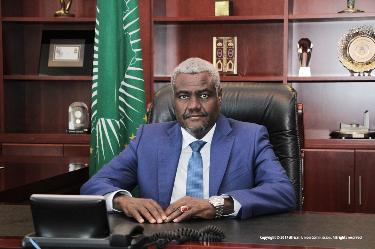 RDC : Union Africaine, Moussa Faki séjourne à Kinshasa pour les derniers réglages de la présidence congolaise 2