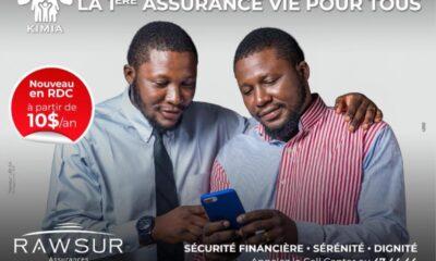 RDC : Rawsur Life démocratise l'assurance vie avec «Kimia» accessible à 10 USD 60