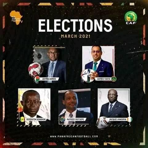 Monde du football: vers les élections à la présidence du comité exécutif de la CAF et au Conseil de la FIFA 1