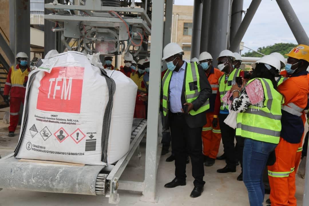 RDC: Willy Kitobo satisfait du fonctionnement de la nouvelle usine à chaux de Tenke Fungurume Mining 1
