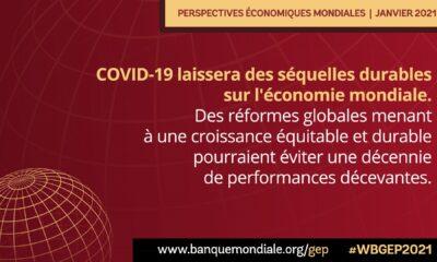 Afrique : la RDC classée 40ème selon la croissance prévue en 2021 par la Banque mondiale 11