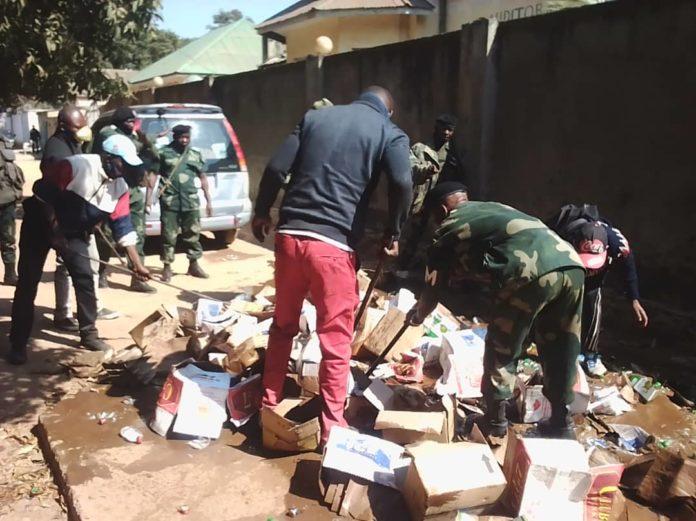 RDC: 550 cartons de boissons alcooliques à forte dose détruits à Lubumbashi 1