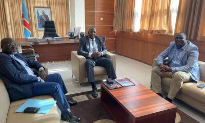 RDC : Willy Kitobo et le directeur général du CAMI harmonisent leurs vues dans l'intérêt du secteur minier 66