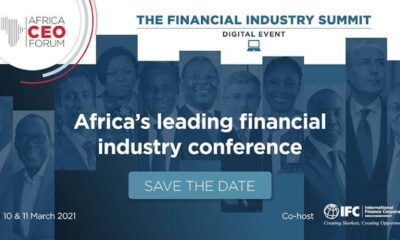 Afrique : AFRICA CEO FORUM tiendra un premier Financial Industry Summit en mars 2021 7