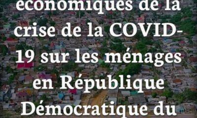 RDC : Covid-19, le nombre de ménages subissant une baisse de revenus augmente de 47% à 62% (Sondage) 97