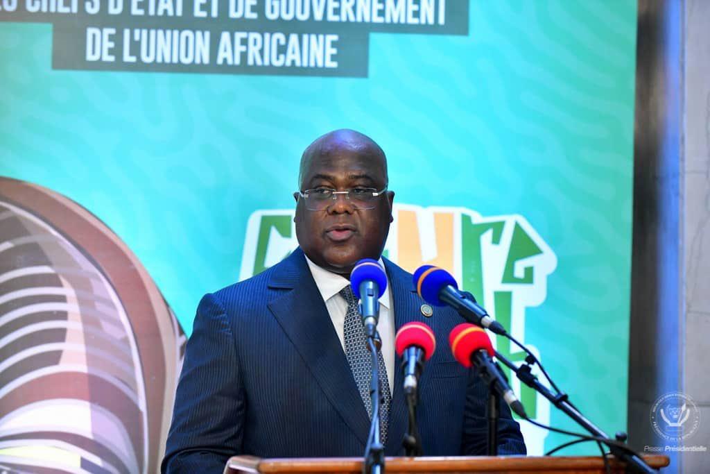 RDC : Présidence de l'UA, Tshisekedi explique sa vision aux ambassadeurs accrédités 1