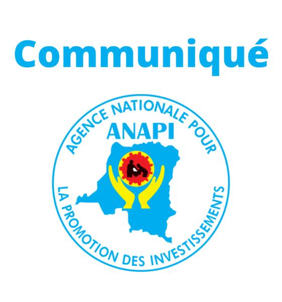 RDC : Message de félicitations de l'ANAPI au premier ministre Sama Lukonde 1